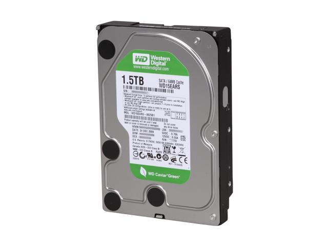 Western Digital WD15EARS 1.5TB Hard Drive