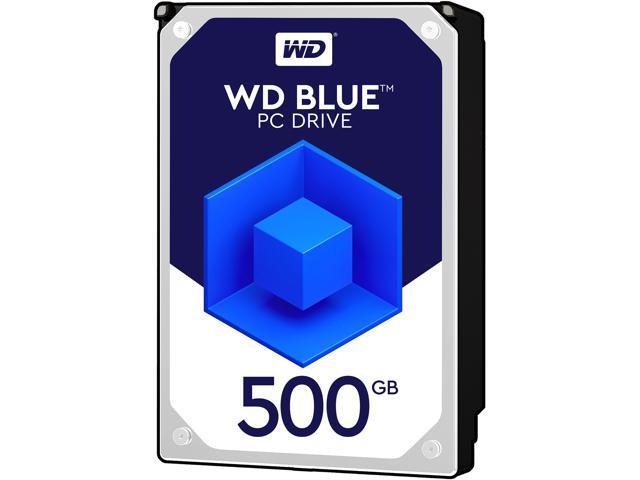 WD Blue 500GB Desktop Hard Disk Drive - 7200 RPM SATA 6 Gb/s 16MB Cache 3 5  Inch - WD5000AAKX - Newegg com
