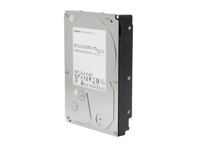 "Hitachi GST Deskstar H3IK20003272SP (0S02861) 2TB 7200 RPM 32MB Cache SATA 6.0Gb/s 3.5"" Internal Hard Drive Retail"
