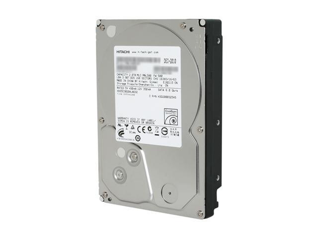 HGST 5K3000 2TB SATA III 3.5 Internal Hard Drive