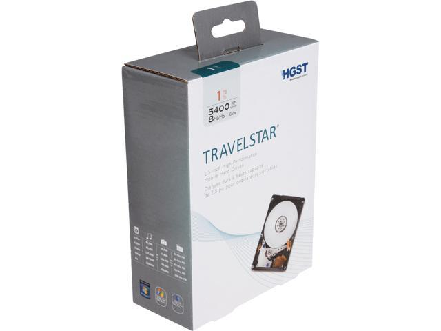 "HGST Travelstar H2IK1000854SP (0S03508) 1TB 5400 RPM 8MB Cache SATA 6.0Gb/s 2.5"" Internal Notebook Hard Drive Bare Drive"
