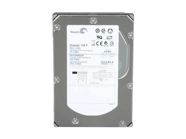 Certified Refurbished Seagate Cheetah 15K.5 300GB 15000 RPM Ultra320 SCSI 80-Pin LC 16MB Cache 3.5 Inch Internal Bare Drive ST3300655LC