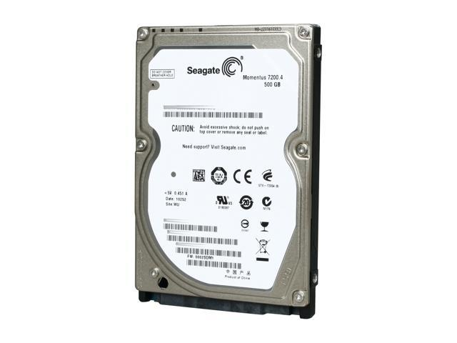 Seagate Momentus 7200.4 ST9500420AS 500GB 7200 RPM 16MB Cache SATA 3.0Gb/s 2.5