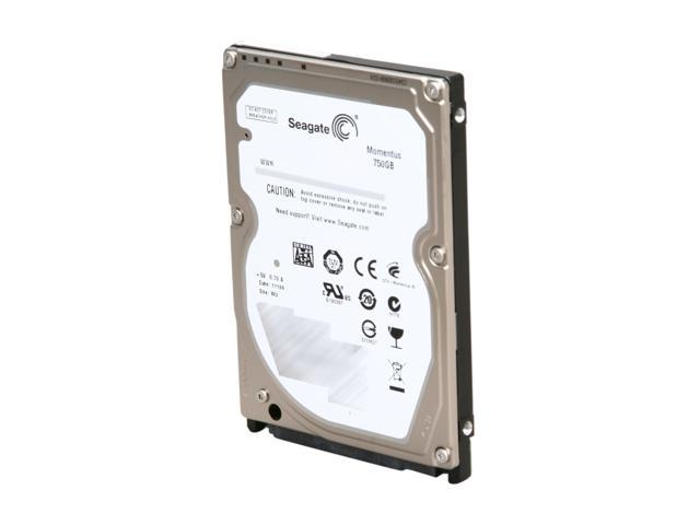 "Seagate Momentus ST9750420AS 750GB 7200 RPM 16MB Cache SATA 3.0Gb/s 2.5"" Internal Notebook Hard Drive Bare Drive"