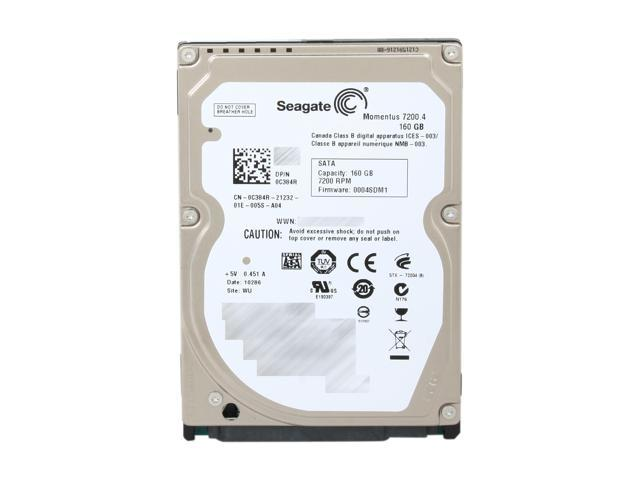 Seagate Momentus 7200.4 ST9160412ASG 160GB 7200 RPM 16MB