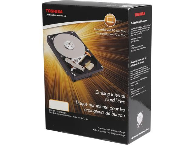 "TOSHIBA PH3400U-1I72 4TB 7200 RPM 128MB Cache SATA 6.0Gb/s 3.5"" Desktop Internal Hard Drive Retail"
