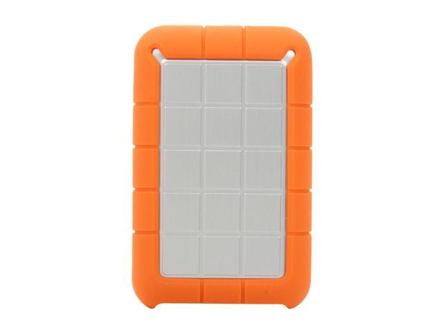 Lacie 1tb Rugged Triple Portable External Hard Drive Usb 3 0 2 X Firewire800 Model Lac301984 Orange