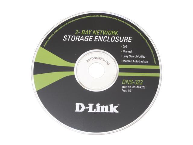 D-Link DNS-323 2-Bay Network Storage Enclosure - Newegg com