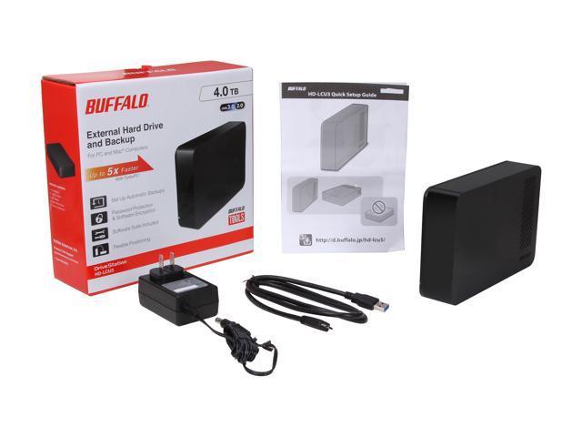 Buffalo 4TB DriveStation External Hard Drive - Newegg com