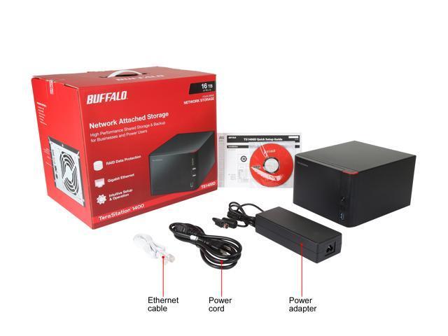 Buffalo TeraStation 1400D Desktop 16 TB NAS Hard Drives Included  (TS1400D1604) - Newegg com
