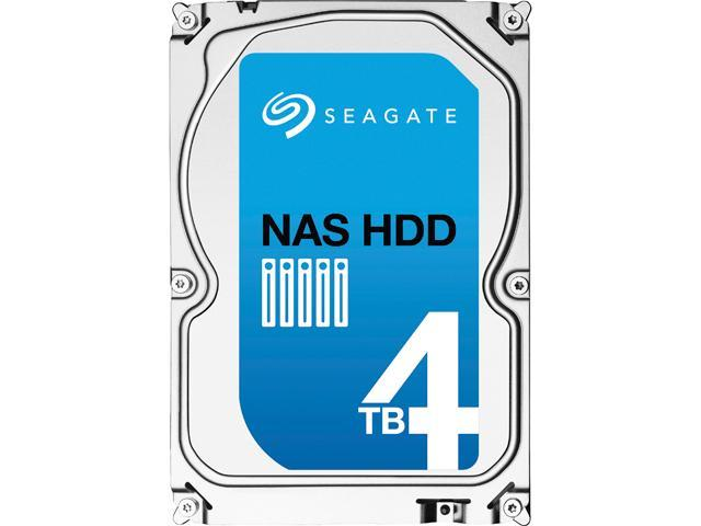 Seagate NAS HDD ST4000VN000 4TB 64MB Cache SATA 6 0Gb/s 3 5