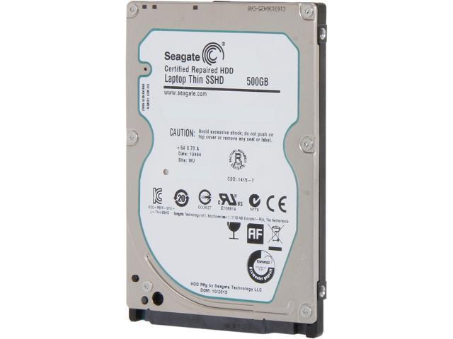SEAGATE ST500LM000 SSHD 500GB 5400RPM 64MB SATA 6.0Gb//s 2.5 Solid State Hybrid