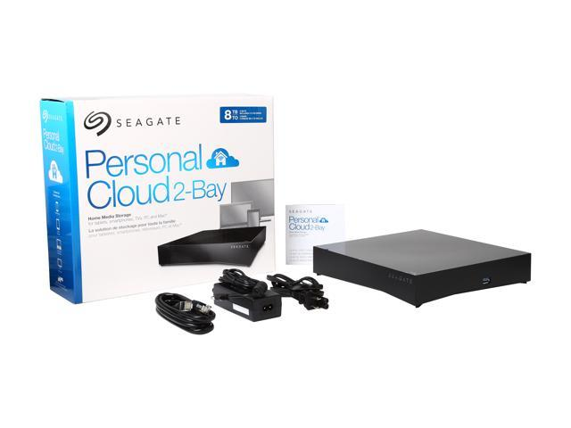 Seagate 8TB (2 x 4TB) Personal Cloud 2-bay NAS server STCS8000100 -  Newegg ca