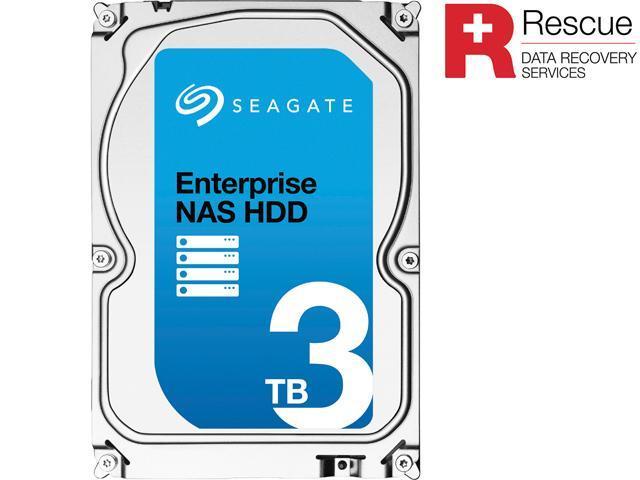 Seagate Enterprise NAS 3TB 7200 RPM 128MB Cache 3.5