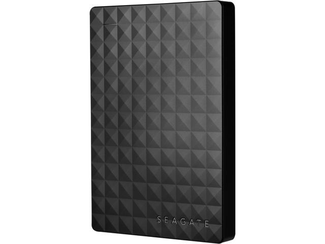Seagate Portable Hard Drive 2TB HDD - External Expansion for PC Windows PS4 & Xbox - USB 2.0 & 3.0 Black (STEA2000400)