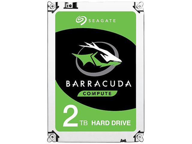 Seagate BarraCuda ST2000DM006 2TB 7200 RPM 64MB Cache SATA 6.0Gb/s 3.5