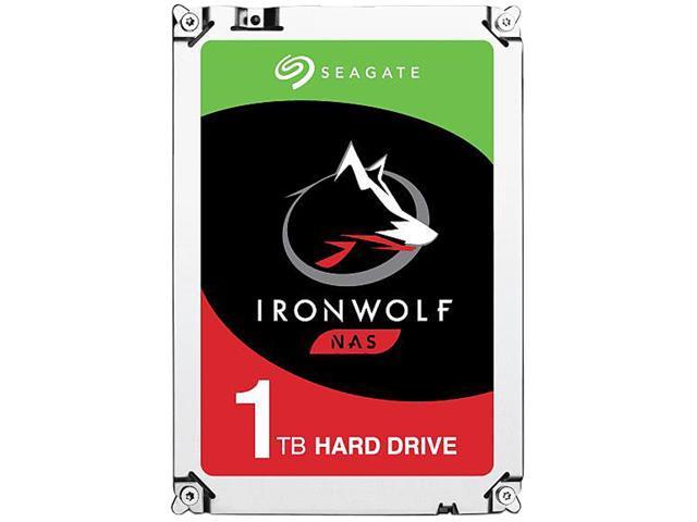 Array - seagate ironwolf 1tb nas hard drive 5900 rpm 64mb cache sata 6 0gb s 3 5   internal hard drive st1000vn002  rh   newegg com