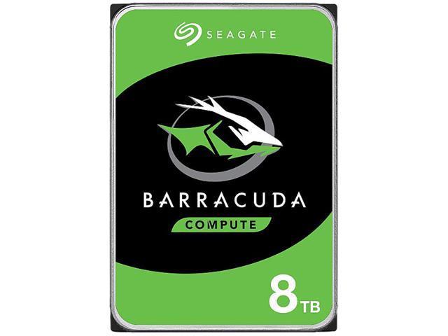 Seagate BarraCuda ST8000DM004 8TB 5400 RPM 256MB Cache SATA 6 0Gb/s 3 5