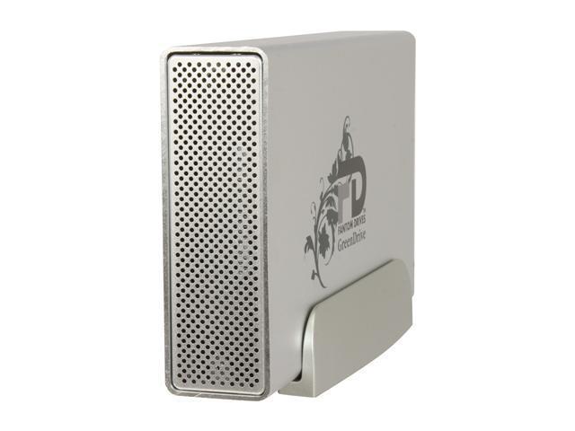 Fantom Drives GreenDrive II 1TB USB 2 0 / eSATA 3 5