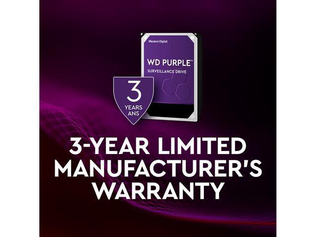 WD Purple 2TB Surveillance Hard Disk Drive - 5400 RPM Class SATA 6Gb/s 64MB  Cache 3 5 Inch WD20PURZ - Newegg com