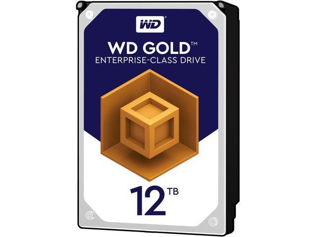 WD Gold 12TB Enterprise Class Hard Disk Drive - 7200 RPM Class SATA 6Gb/s  256MB Cache 3 5 Inch - WD121KRYZ - Newegg com