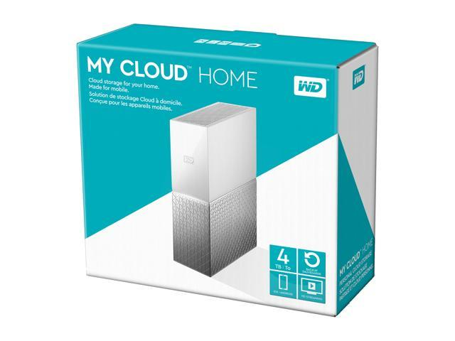 WD 4TB My Cloud Home Personal Cloud Storage - WDBVXC0040HWT-NESN -  Newegg com