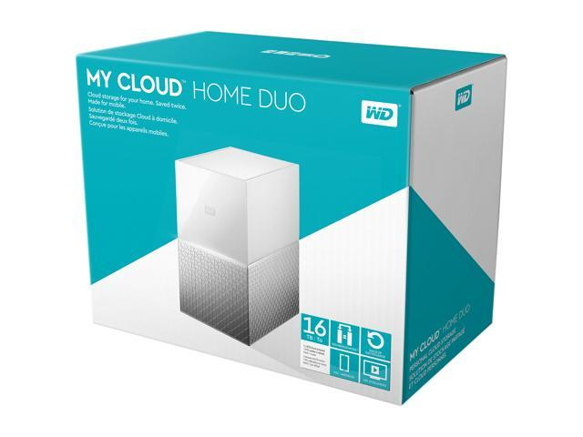 WD 16TB My Cloud Home Duo Personal Cloud Storage - WDBMUT0160JWT-NESN -  Newegg com