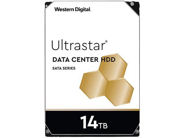 "Western Digital Ultrastar 14TB DC HC500 7200 RPM SATA 6.0Gb/s 3.5"" Data Center Internal Hard Disk Drive - 0F31284"