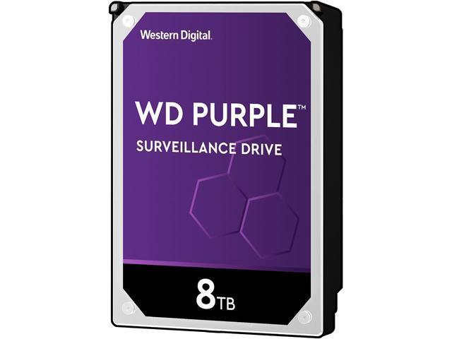 WD Purple WD82PURZ 8TB 7200 RPM 256MB Cache SATA 6 0Gb/s 3 5