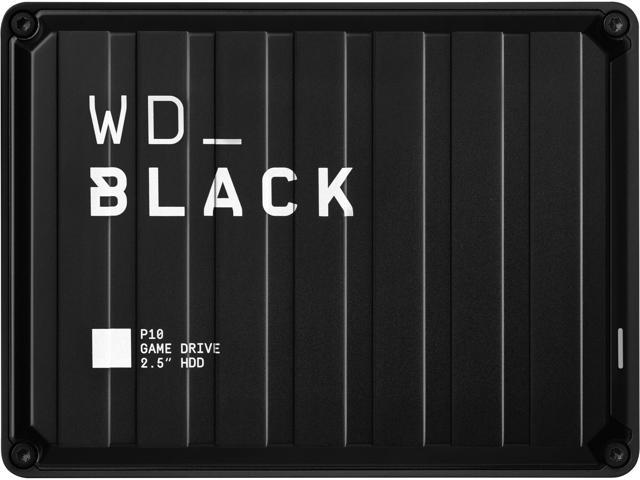 WD Black 4TB P10 Game Drive Portable External Hard Drive for PS5/PS4/Xbox One/PC/Mac USB 3.2 (WDBA3A0040BBK-WESN)