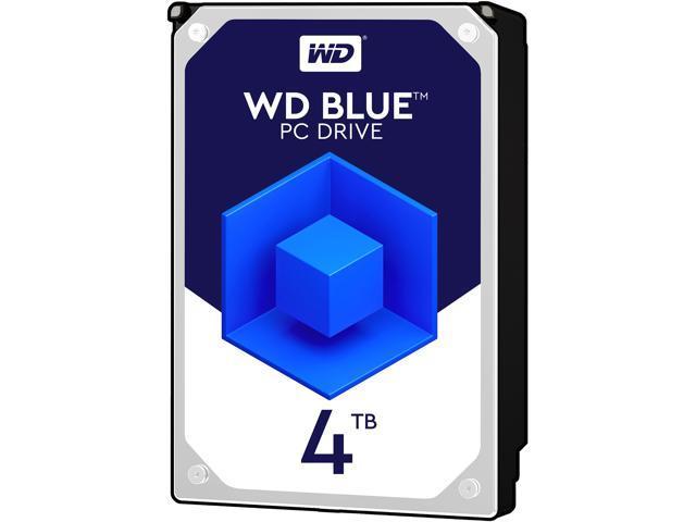 WD Blue 4TB Desktop Hard Disk Drive - 5400 RPM SATA 6Gb/s 64MB Cache