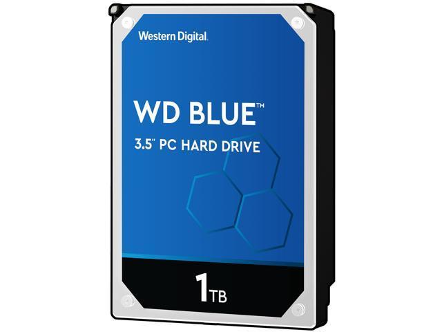 WD Blue 1TB Desktop Hard Disk Drive - 5400 RPM SATA 6Gb/s 64MB Cache