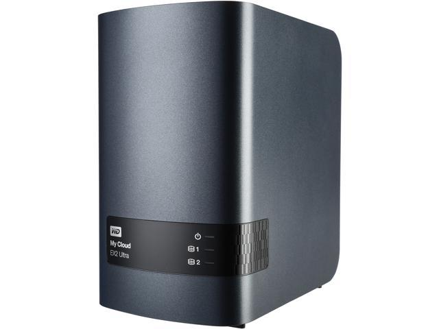 WD Diskless My Cloud EX2 Ultra Network Attached Storage - NAS -  WDBVBZ0000NCH-NESN - Newegg com