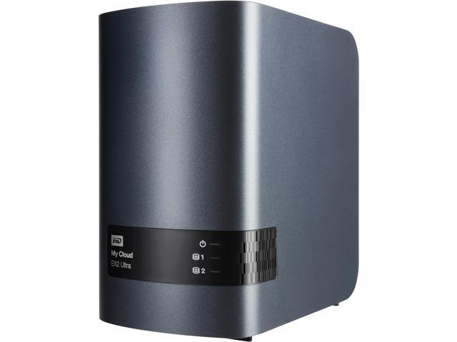 WD 4TB My Cloud EX2 Ultra Network Attached Storage - WDBVBZ0040JCH-NESN -  Newegg com
