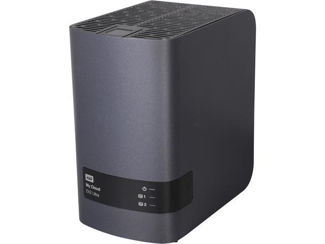 Wd 8tb My Cloud Ex2 Ultra Network Attached Storage Wdbvbz0080jch Nesn Newegg Com