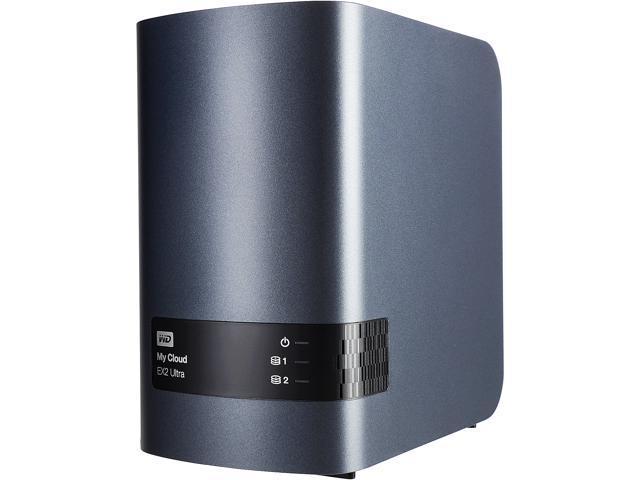 Wd 16tb My Cloud Ex2 Ultra Network Attached Storage Wdbvbz0160jch Nesn Newegg Com