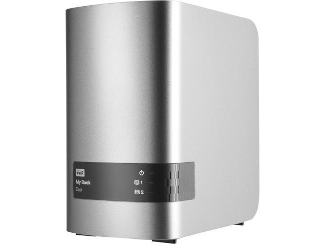 WD 16TB My Book Duo Desktop RAID External Hard Drive USB 3 0 -  WDBLWE0160JCH-NESN - Newegg com