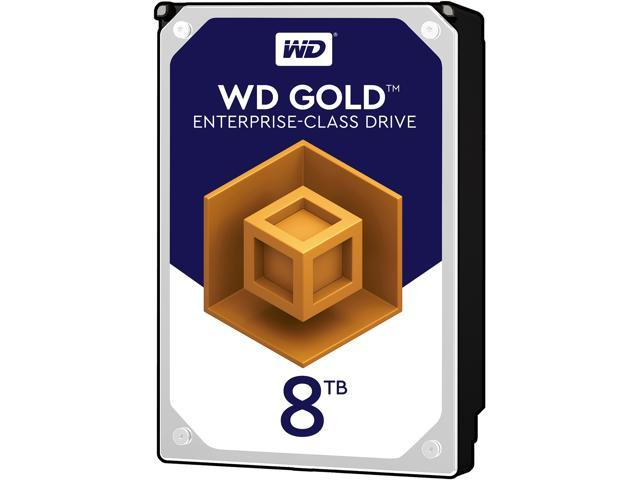 WD Gold 8TB Datacenter Hard Drive 7200 RPM SATA 6 Gb//s 128MB Cache WD8002FRYZ