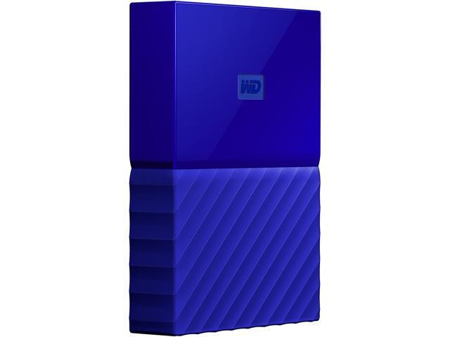 WD 4TB My Passport Portable Hard Drive USB 3 0 Model WDBYFT0040BBL-WESN  Blue - Newegg com