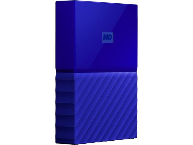 WD 2TB My Passport Portable Hard Drive USB 3.0 Model WDBYFT0020BBL-WESN Blue
