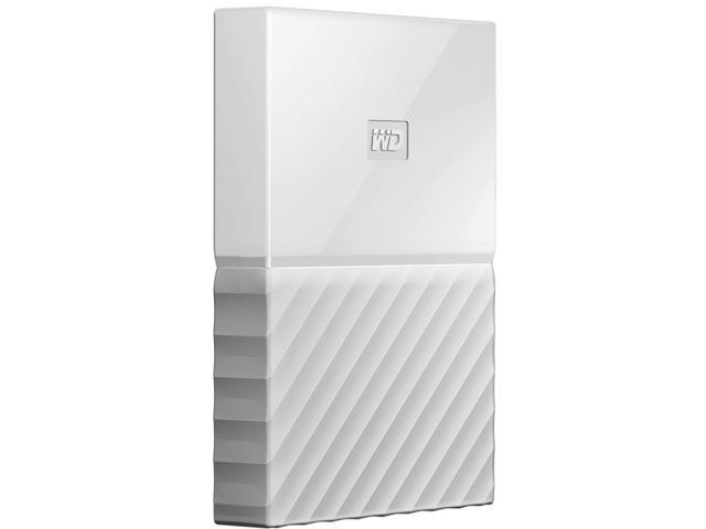 WD 1TB My Passport Portable Hard Drive USB 3.0 Model WDBYNN0010BWT-WESN  White 91507bf3796d