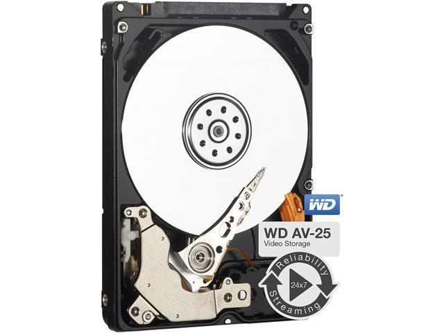 WD AV-25 1TB 5400 RPM 16MB Cache SATA 3 0Gb/s 2 5-Inch Internal Hard Drive  - WD10JUCT - Newegg com