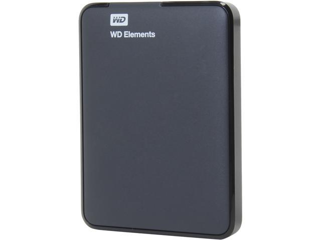 WD 500GB Elements Portable External Hard Drive - USB 3.0 ...