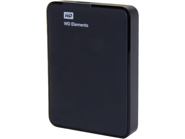 WD 1 5TB Elements Portable External Hard Drive - USB 3 0 -  WDBU6Y0015BBK-NESN - Newegg com