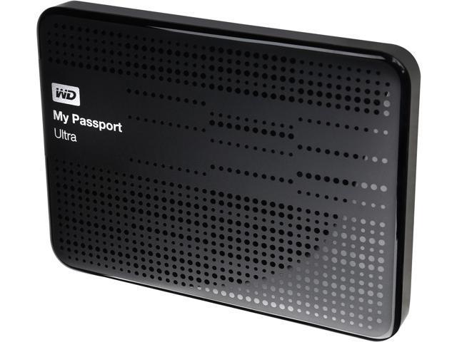 WD 1TB My Passport Ultra Portable Hard Drive USB 3 0 Model  WDBZFP0010BBK-NESN Black - Newegg com
