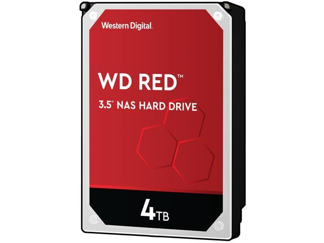 WD Red 4TB NAS Hard Disk Drive - 5400 RPM Class SATA 6Gb/s 64MB Cache 3 5  Inch - WD40EFRX - Newegg com
