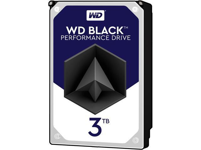 WD Black 3TB Performance Desktop Hard Disk Drive - 7200 RPM SATA 6Gb/s 64MB  Cache 3 5 Inch - WD3003FZEX - Newegg com