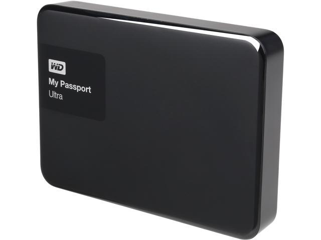 Western Digital 2TB My Passport Ultra Portable External Hard Drive, USB 3 0  - WDBBKD0020BBK-NESN Black - Newegg com