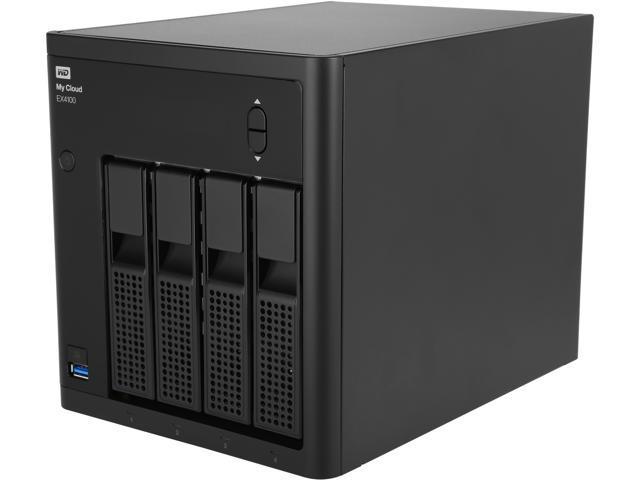 WD 16TB My Cloud EX4100 Expert Series Network Attached Storage - NAS  WDBWZE0160KBK-NESN a0f00701c97e