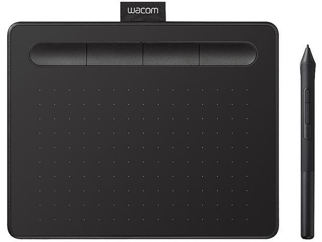 Wacom Intuos Small, Black, CTL4100 - Newegg com
